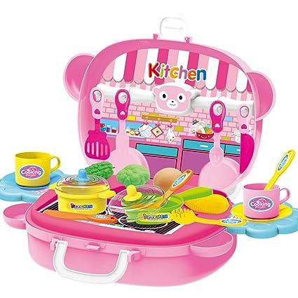 Amazon.com: WDDH Juego de cocina para niños, juguete ...