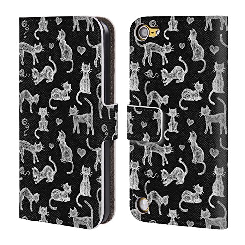 official-micklyn-le-feuvre-teachers-pet-chalkboard-cats-animals-leather-book-wallet-case-cover-for-i