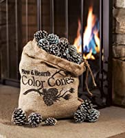 Fireplace Color Cones, Festive Fun Rainb...