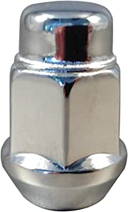 "5x Excalibur 1956 Lug Nuts 12x1.25 Bulge Acorn 3//4/"" Hex Chrome"