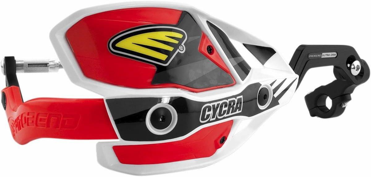 Cycra Ultra Probend CRM Wrap Around Handguards White//Yellow 1CYC740855X