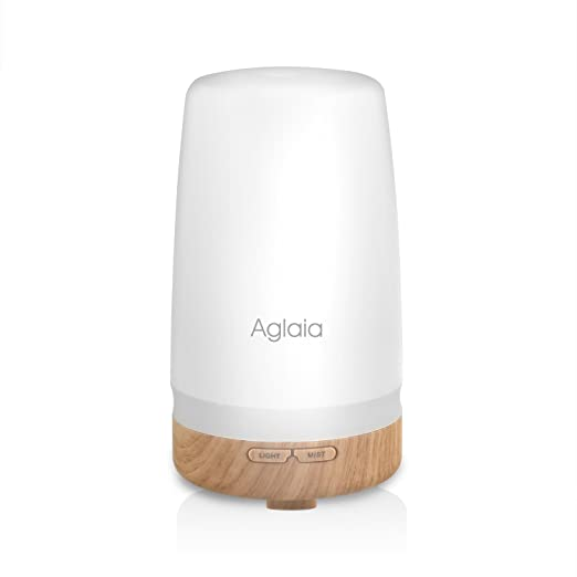 227 opinioni per Aglaia Diffusore di Aromi di 100ml Umidificatore Ultrasuoni con 2 colore LED per