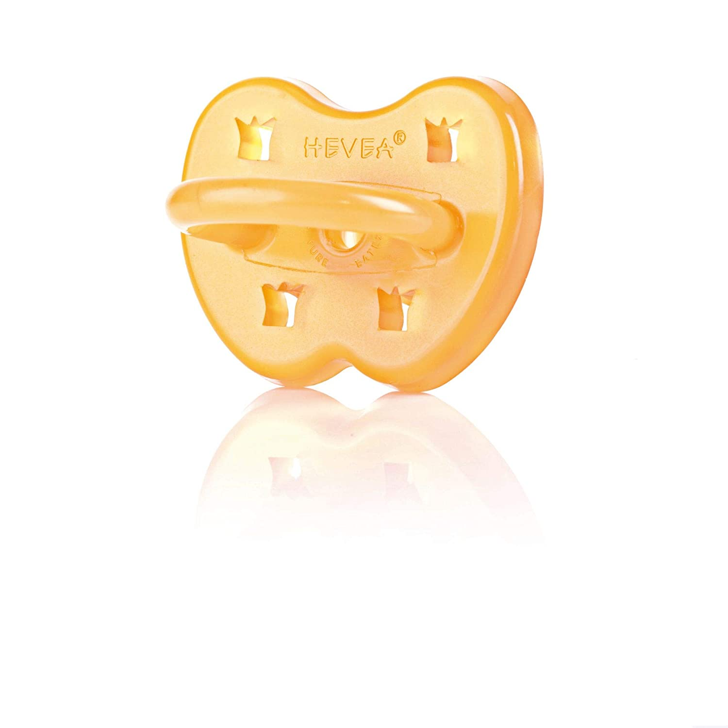Hevea Large Star and Moon Orthodontic Pacifier for 3 Plus months