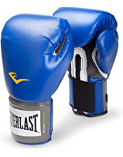 Everlast 2216 Pro Style Training Gloves (Blue, 16 oz.)