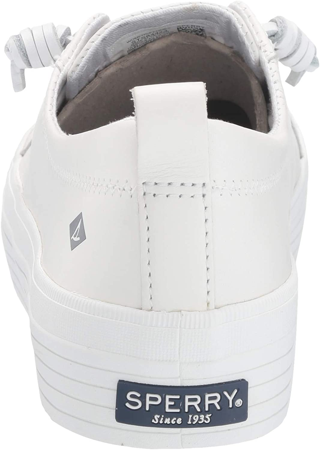 Sperry Womens Crest Vibe Platform Leather Sneakers