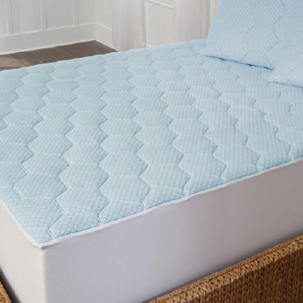 Amazon.com: TempureRest Cooling Gel Memory Foam Antimicrobial  Hypoallergenic Mattress Topper Pad: Home & Kitchen