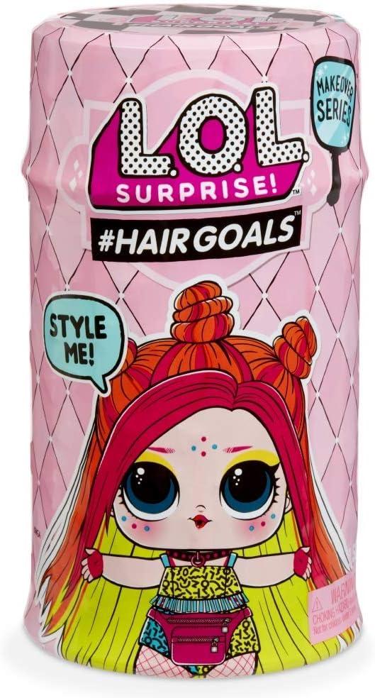 Giochi Preziosi - LOL Surprise Hairgoals S2, LOL con Capelli Pettinabili, 15...
