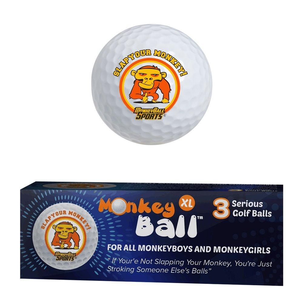 MonkeyBall Slap Yo Monkey Golf Balls (3)