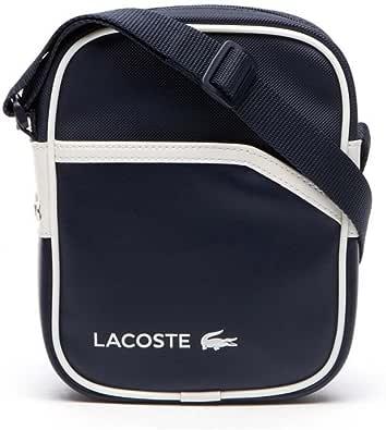 Bolso Lacoste Small Vertical Camera Azul: Amazon.es: Zapatos y complementos