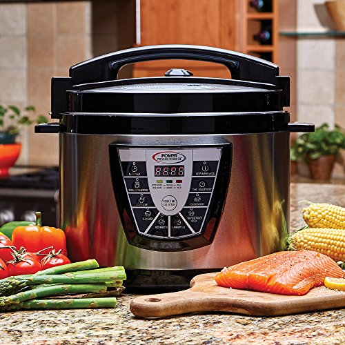 Power Pressure Cooker XL 10 Qt with Eric Theiss' Power Pressure Cooking Cookbook by Power Pressure Cooker XL (Image #3)