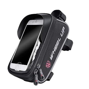 LLCP Bicicleta Bolsa Montaña Coche Manillar Garantía Bolsa Teléfono Móvil Touch Pantalla Pack Accesorios Bici: Amazon.es: Deportes y aire libre