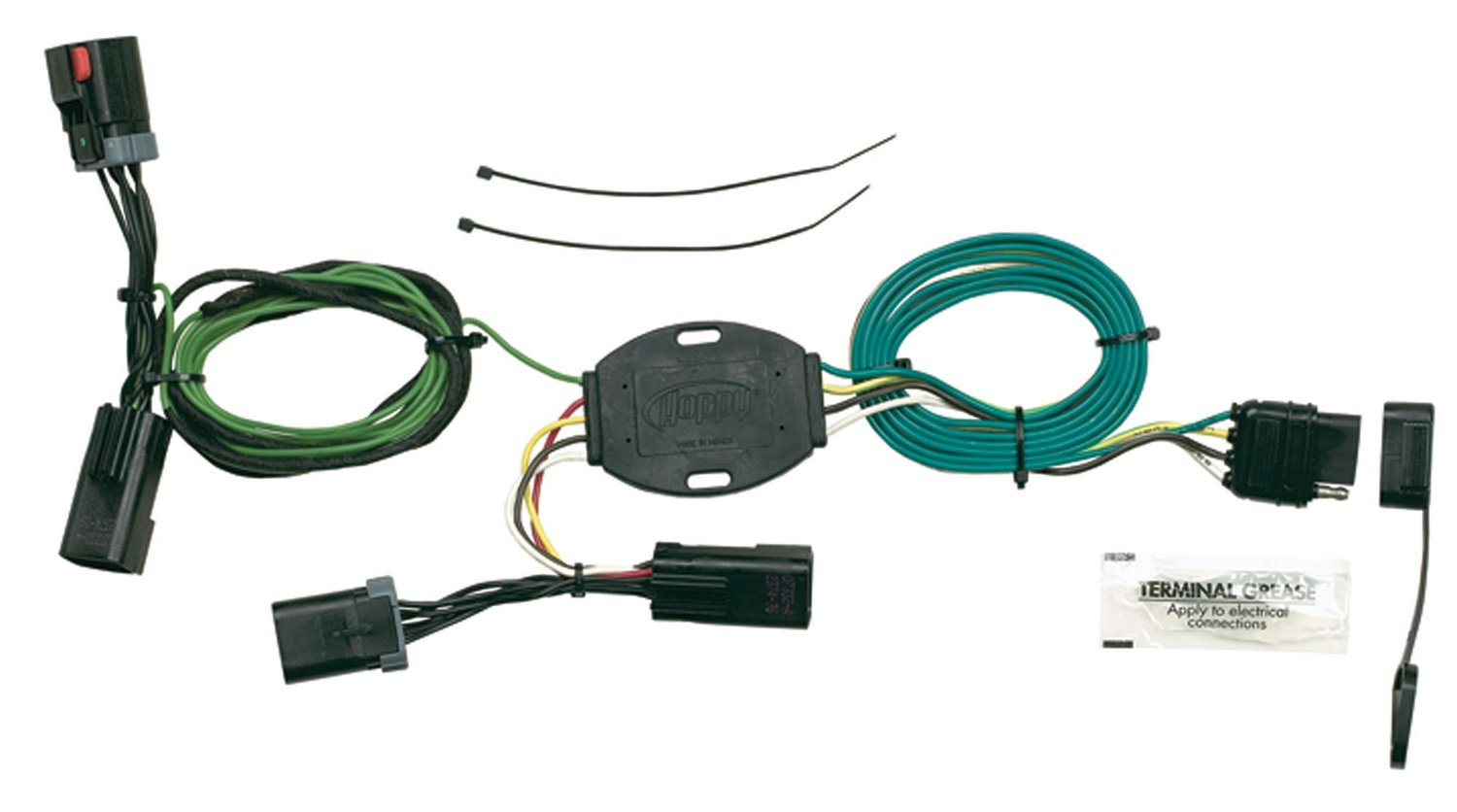 Hopkins 42135 Plug In Simple Vehicle Wiring Kit Automotive Dodge Harness Connectors