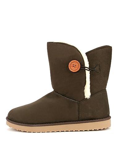 Boots Ugta Fourrée Pointure Cendriyon Marron Grande Chaussures HwBBqx