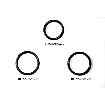 3 O-Ring Gaskets for Ford F150 5.0L Engine Radiator Hose And T-pipe coolant leak Repair/Replacement DR3Z8566A & 2x BC3Z8590F: Automotive