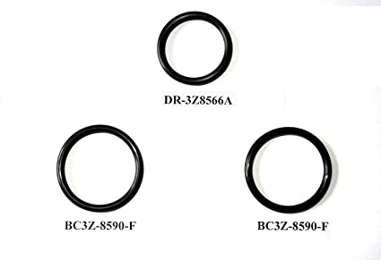 amazon com 3 o ring gaskets for ford f150 5 0l engine radiator hose Ford Ranger Parts Diagram 3 o ring gaskets for ford f150 5 0l engine radiator hose and t