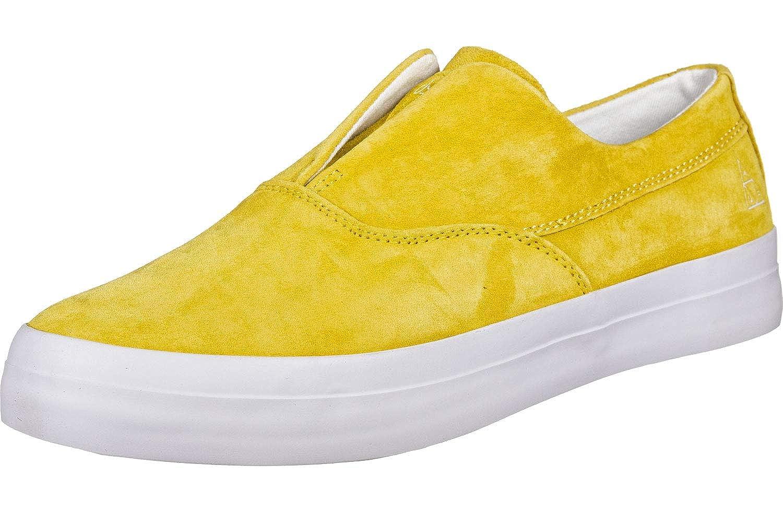 e6f014deedc3 Amazon.com  Huf Dylan Slip On Shoes - Yellow  Shoes