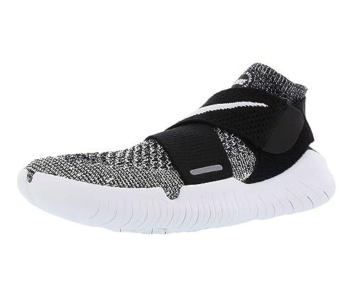 Women's 2018 Free Low Top Sneakersblackwhite Nike Motion W Rn Fk 4LRj5A3q
