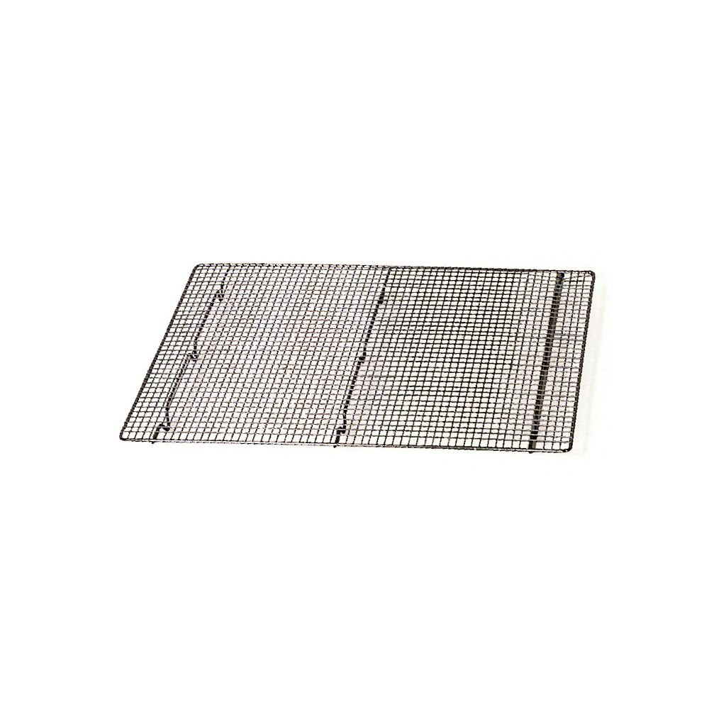 "Browne 12"" x 16-1/2"" Nickel-Plated Footed Pan Grate"