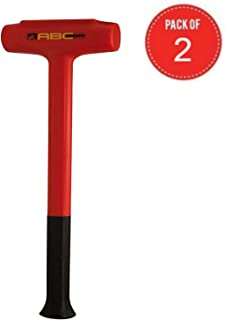 product image for ABC Hammers Polyurethane Dead Blow Hammer (9-Pound Pack of 2)