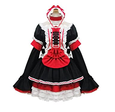 Amazon Com Cos Store Black Japan Lolita Lace Princess Cosplay