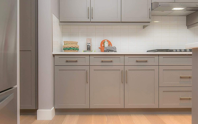 10 piezas 128 mm manijas de cocina con tornillos de acero inoxidable T bar gabinete manija del armario tirador de la puerta manija de la puerta para cajones de cocina muebles de dormitorio
