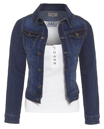 3fe4e0ed02af SS7 NEUF Femmes Veste en jeans