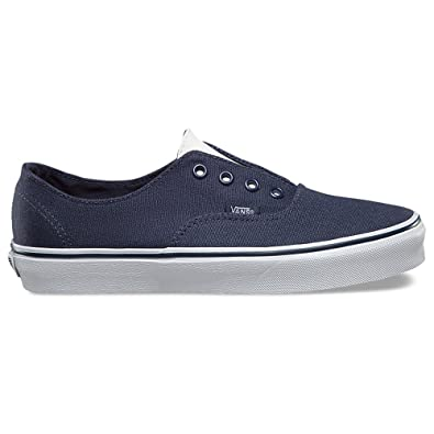 8cd54d157915 Image Unavailable. Image not available for. Color  Vans Authentic Gore  Leather Canvas Fashion ...