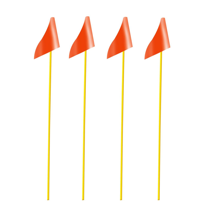 Soccer Innovations p-fgcfファイバーグラスコーナー&トレーニングフラグ、オレンジ、標準 B06W2MNHJQ