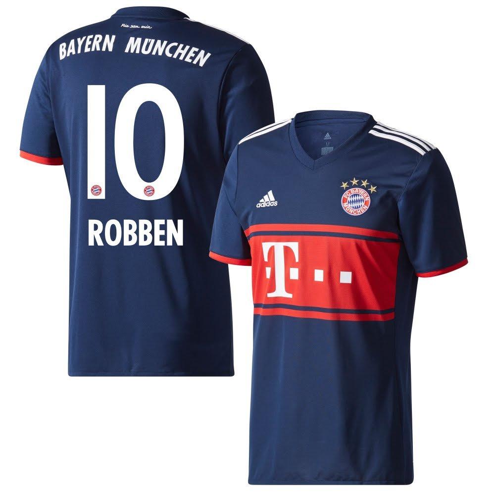 Player Print - adidas Performance Bayern München Away Trikot 2017 2018 + Robben 10