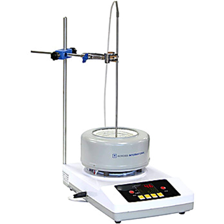 Across International DigiM10.220 Digital Heating & Stirring Mantle, 220V, 10L, 300 Degree C, 2000 RPM