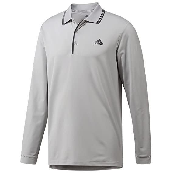 4fbc9b52 adidas Men's Ultimate Longsleeve Polo Shirt: Amazon.co.uk: Clothing