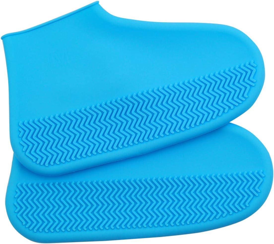QDASZZ Shoes Waterproof Cover Mens Rain Boots Sand Control Non-Slip Reusable Rain Snow Rain Shoe Covers