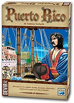 Devir- Puerto Rico, Juego de Mesa (BGPUERTO): Amazon.es: Juguetes ...