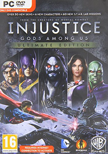 Injustice: Gods Among Us Ultimate Edition (PC DVD) (UK Import)