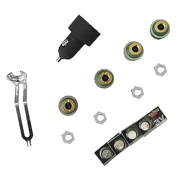 Delicacydex Detector de automóviles TPMS para vehículos con Sistema de monitoreo de presión de neumáticos externos