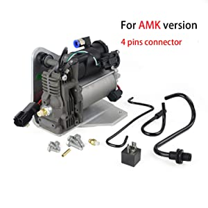 Air Suspension Compressor Pump & Relay AMK style for Land Rover LR3 05-09 / LR4 2010-2014 / Range Rover Sport 06-13 LR061663
