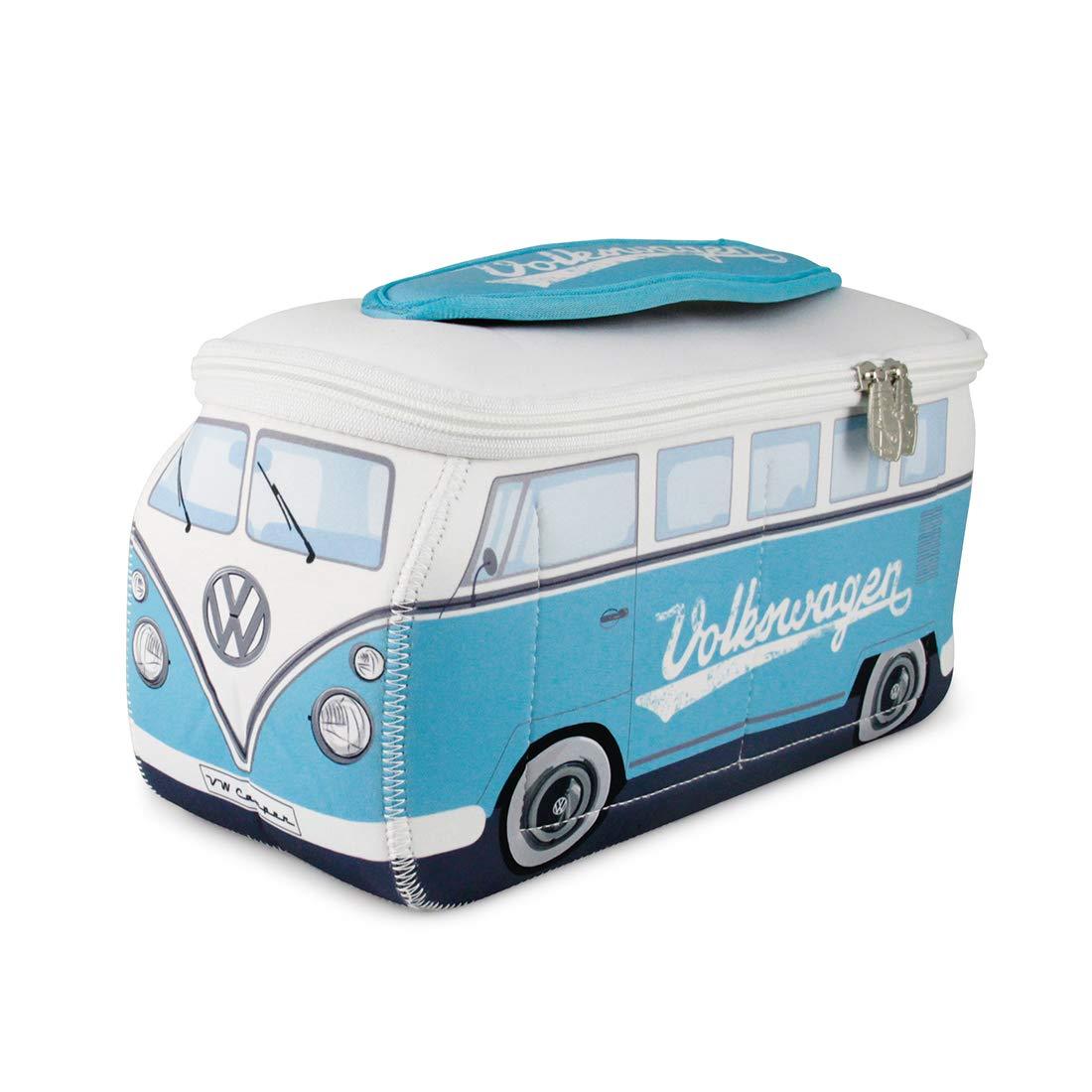 BRISA VW Collection VW T1 Bus 3D Neoprene Universal Bag - Turquoise