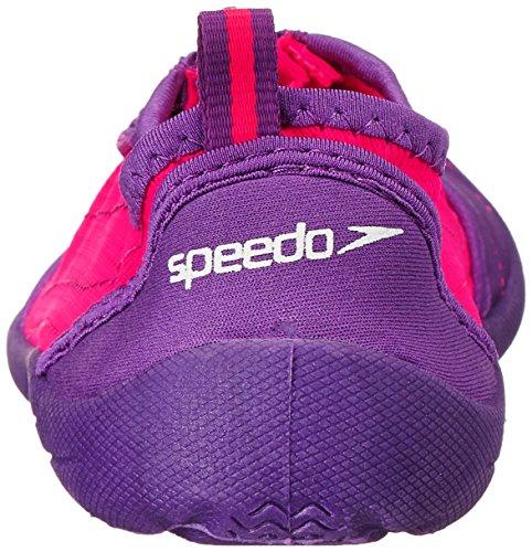 Speedo Womens Zipwalker 3.0 Water Shoe Viola / Rosa