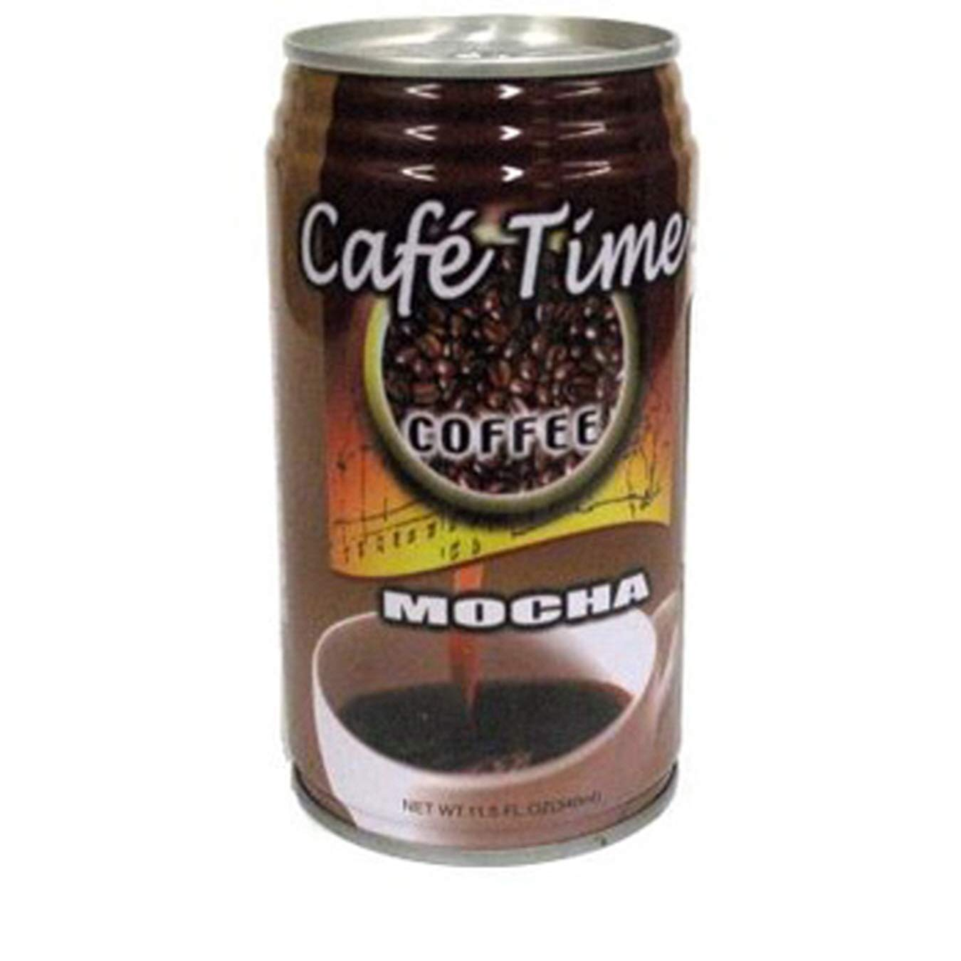 (Pack of 24) Café Time Coffee Drink Mocha, 11.5oz