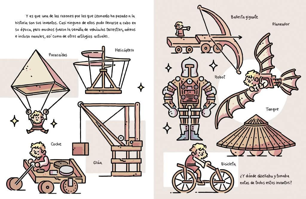 Pepitas de oro. Leonardo da Vinci Descubre el mundo y la Historia ...