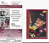 Davey Allison Authenticated Signed Maxx Racing Card #28 Certified Autograph - JSA Certified - Autographed NASCAR Cards