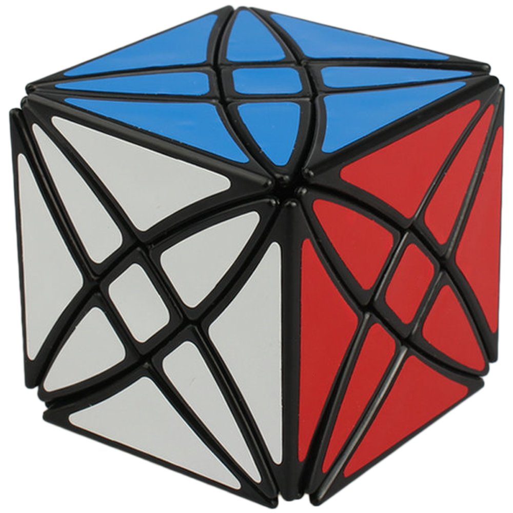 【新品本物】 Willking 8 Axis Cube Flower Rex Puzzle Hexahedron Twisty Toy Puzzle Cube Toy Black B071HH33R1, Cielo Blu ONLINE STORE:c02c5e50 --- a0267596.xsph.ru