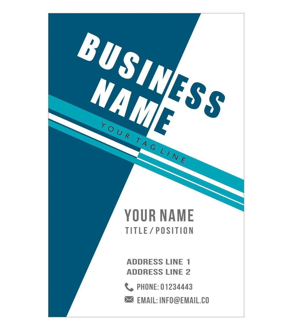 デザインYour Own Unique Personalisedビジネスカードカスタムプロフェッショナル会社訪問card-フロント 500 Cards-Glossy B01EUKVQDK  500 Cards-Glossy