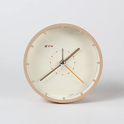 ZEKRBY Personalidad Simple Retro Mini Despertador Plancha Roma Reloj Digital Inglaterra Industrial Sala De Estar Dormitorio