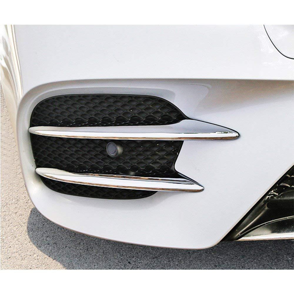 ABS Plastica cromato Fendinebbia Fendinebbia Copertura Trim Accessori auto per classe E W213 2016 2017 2018 E43 AMG in fibra di carbonio Auto-broy