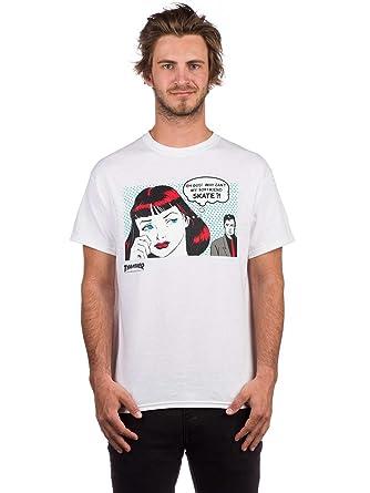 17d744a70fc6 Thrasher New Boyfriend Short Sleeve Tee Shirt