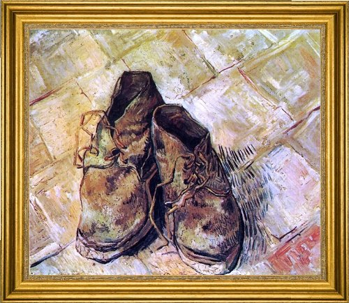 (Art Oyster Vincent Van Gogh A Pair of Shoes - 20.05