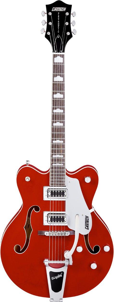 GRETSCH g5422tdc Electromatic hueca cuerpo, guitarra eléctrica, rojo, con funda): Amazon.es: Instrumentos musicales