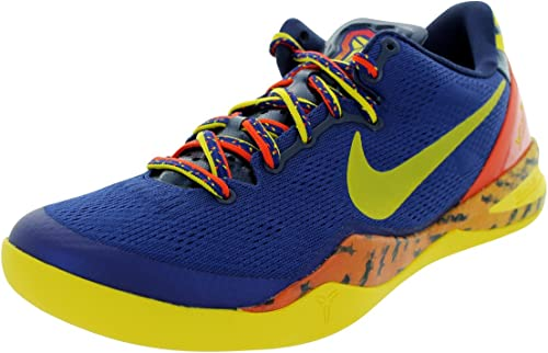 finalizando Isla de Alcatraz longitud  Nike Kobe 8 System (92), Size 44, 5 Yellow: Amazon.co.uk: Shoes & Bags