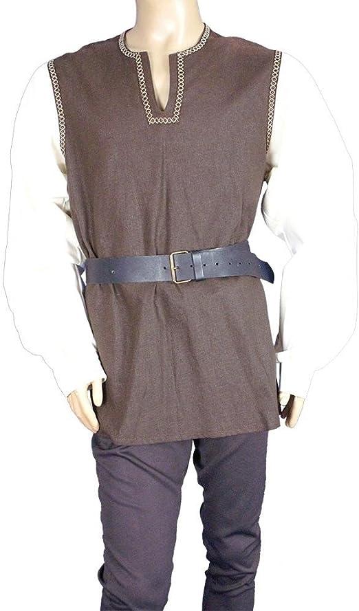 Medieval Factory Camisa vikinga dos colores: Amazon.es: Juguetes y juegos